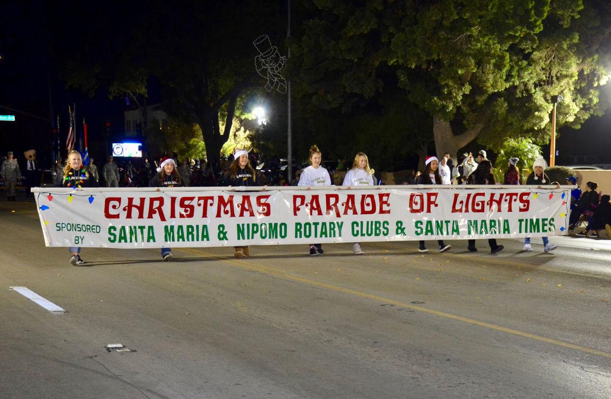 Panthers Rock Christmas Parade