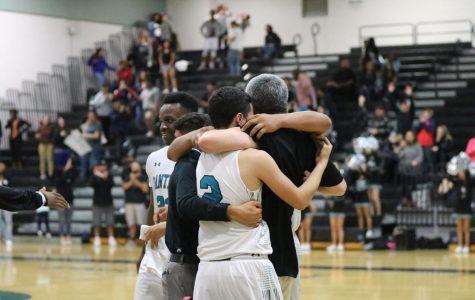 Panthers Varsity Basketball Claws Through Eagles on Senior Night