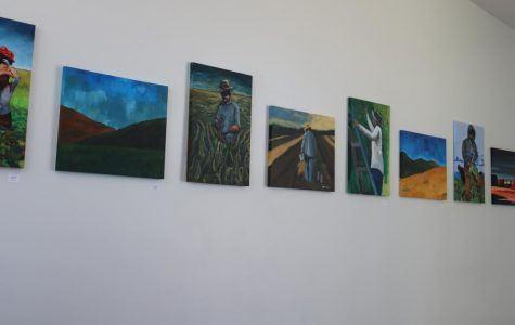Student Art Displayed In PAC
