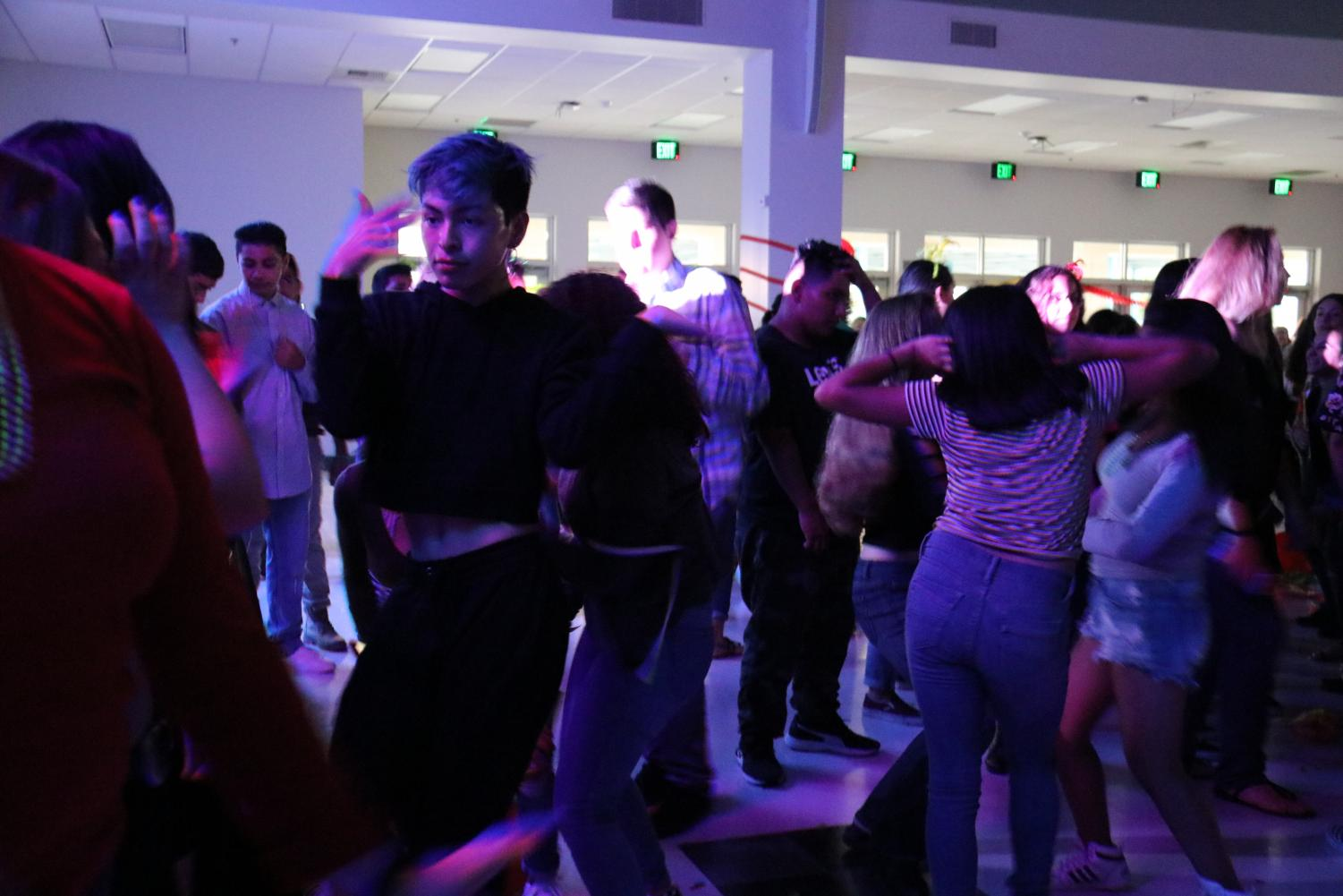 Panthers Hit The Dance Floor!