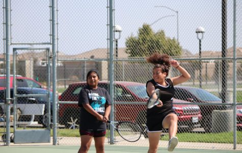 Girls JV Tennis Team Plays Against Nipomo Titans!