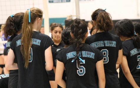 Our Frosh Volleyball Girls Fall Against Morrobay!!