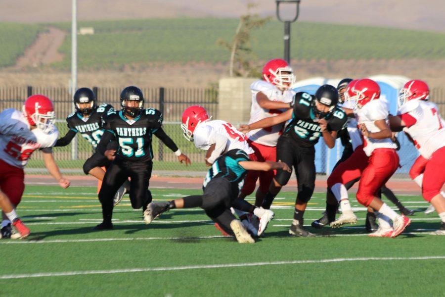 Freshman Play the Saints!