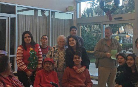 ASB Celebrates Christmas with Santa Maria Seniors