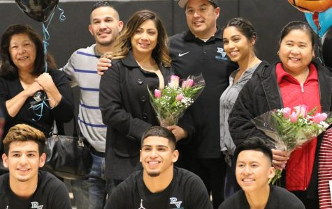 Boys Basketbll & Cheer's Senior Night!