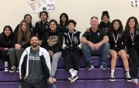 Girls' Wrestling Wins Big at CIF Central Section