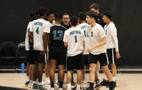 Boys Varsity Volleyball VS Morroy Bay