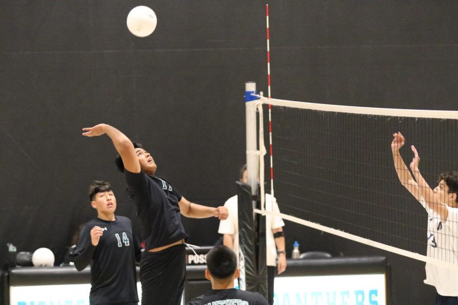 Boys Jv Volleyball Takes Another Win