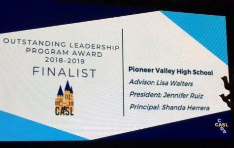 Student Council's Wins Leadership award!