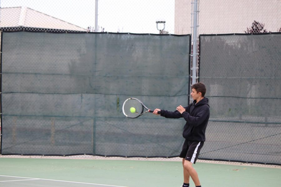 Tennis Last Home Game