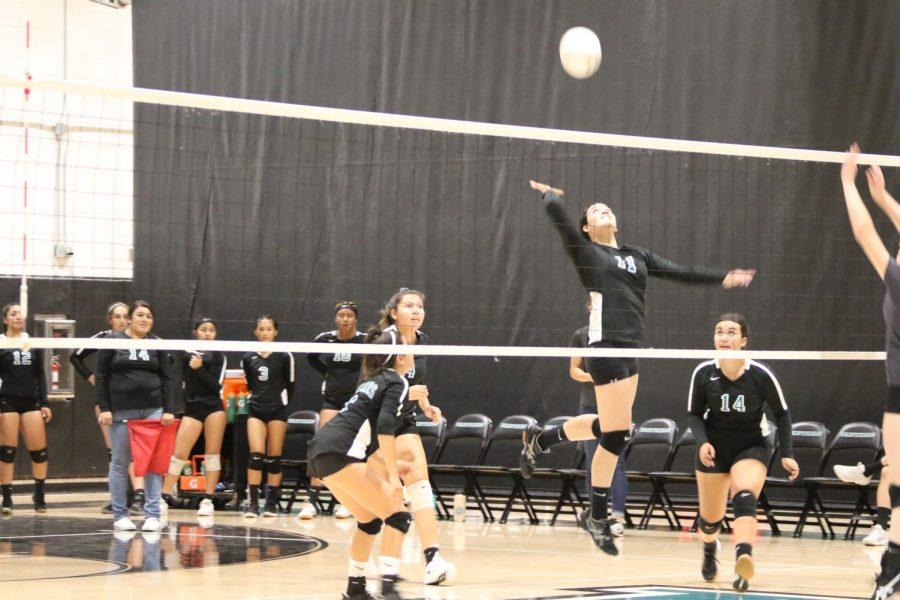Varsity Volleyball Game!!