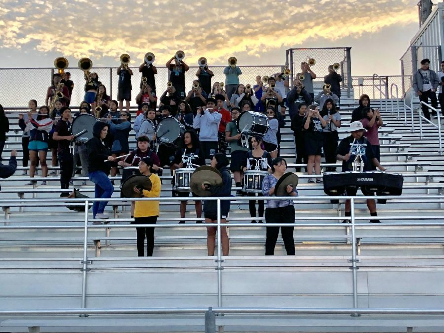 2020 Marching Band- A New Vision for a New Year