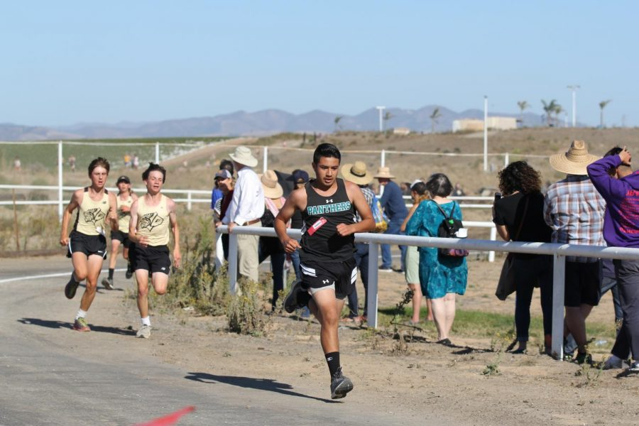 Cross Country 3 Miles Till The Finish Line