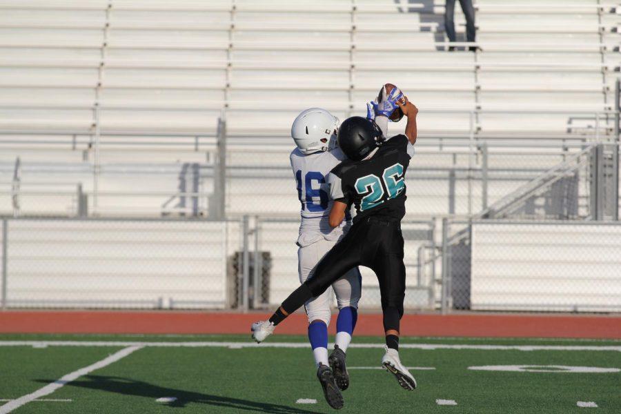 Freshman Football: PVHS vs Lompoc - Tie 42-42