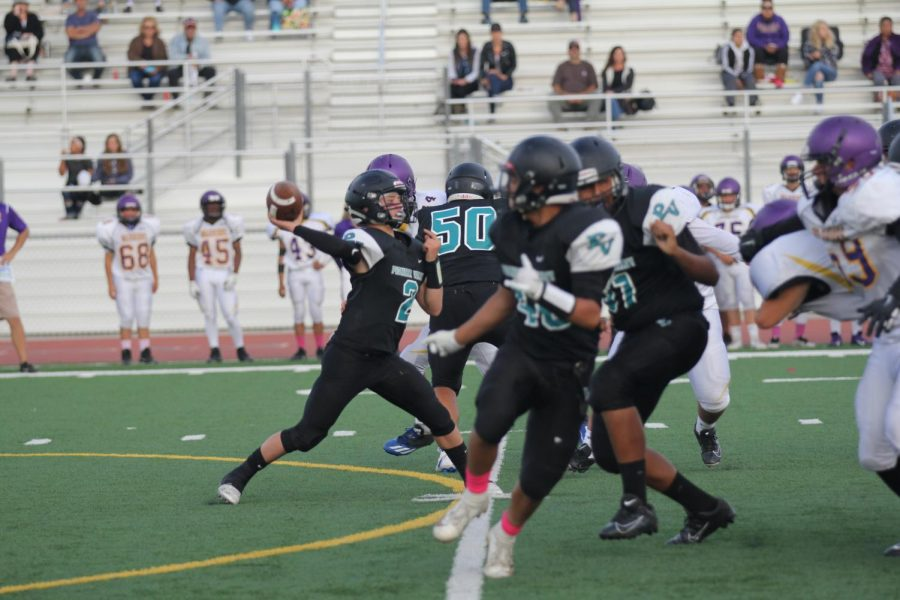 Freshman Football: PVHS vs Righetti Rematch